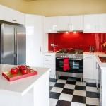 Red Splashback, Kitchen