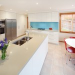 New project defined by gorgeous kitchen island