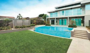 Going green: Artificial grass
