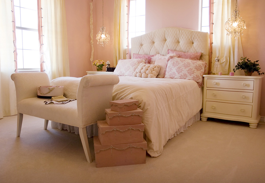 The bedroom: a sweet retreat