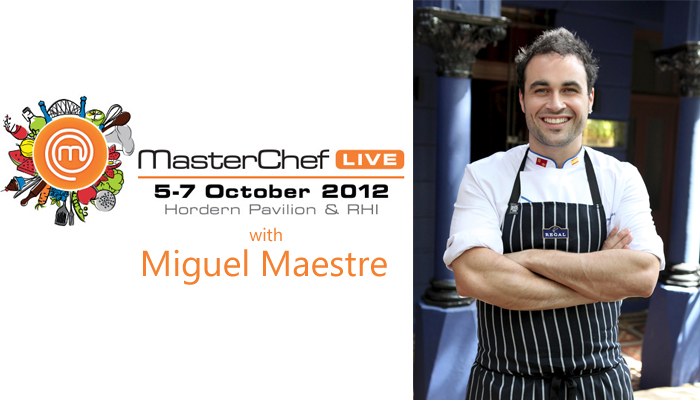 In the kitchen with celebrity chef Miguel Maestre miguel the living room