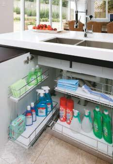 Expert advice: Maximise storage in existing cabinets