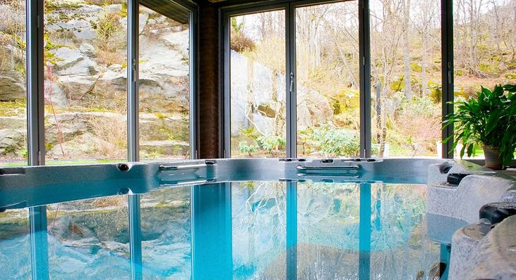 Indoor pools for winter