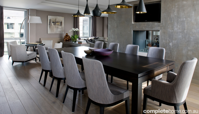 REAL HOME: Cool and contemporary London penthouse
