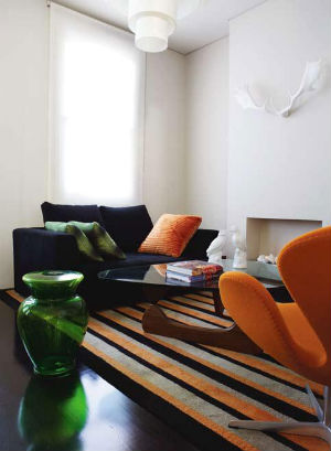Drab terrace gets glamorous retro revival