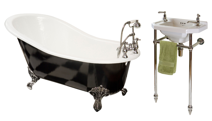 Get the look: Roaring 20s bathroom