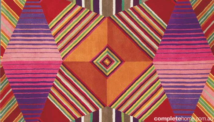 Trend alert: Rug geometry