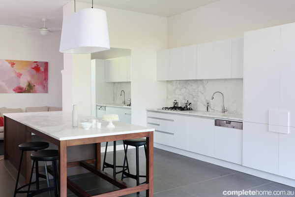 Inside the block all stars kitchens completehome for White kitchen designs 2013