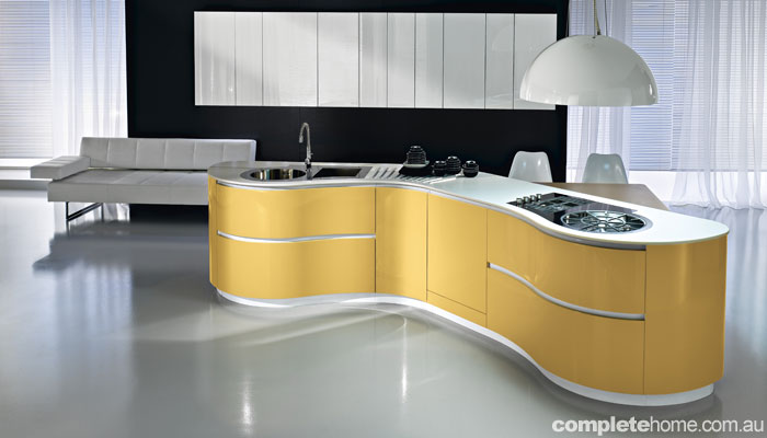 6 cool kitchens