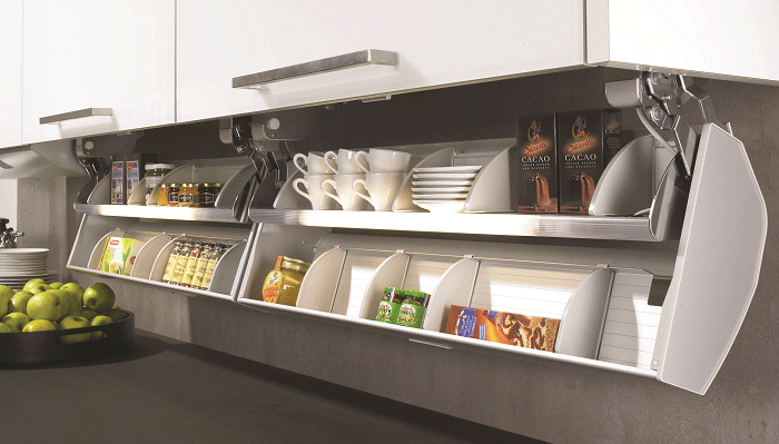 Smart thinking: Kitchen organisation & storage