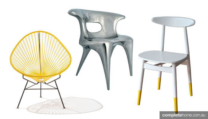 7 designer dining chairs