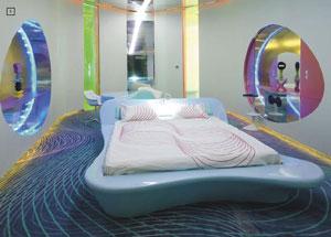 Hotel room design of the future