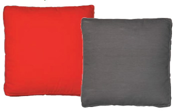Outdoor cushions: Top 3 styles