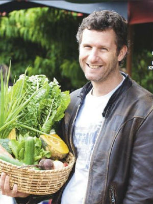 Adam Hills on sustainable living