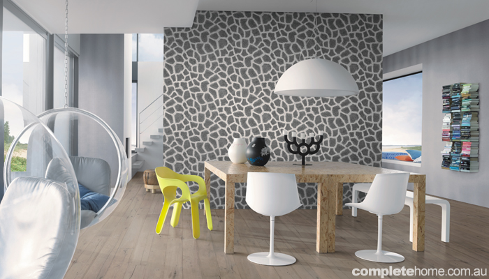 Trend alert: Funky feature walls