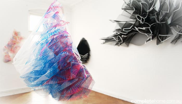 Eye-catching art by Elizabeth Delfs