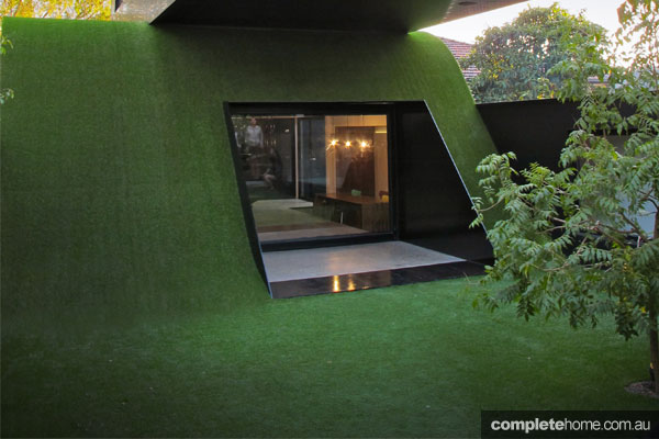 REAL HOME: Turf-covered Hill house