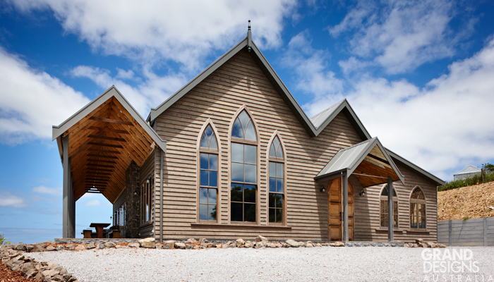 GRAND DESIGNS AUSTRALIA: Fish Creek Church house