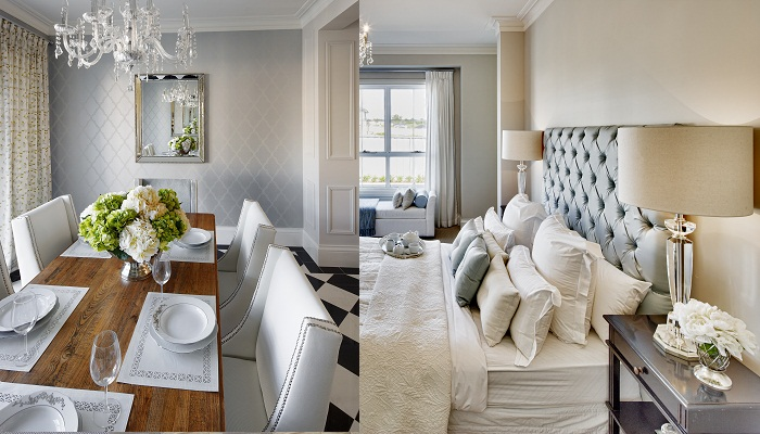 REAL HOME:  Hamptons inspired