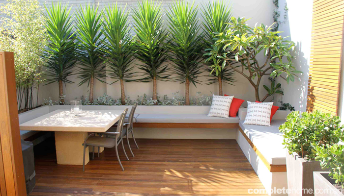 How to... create an outdoor room