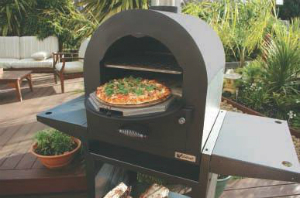 Backyard woodfired cooking
