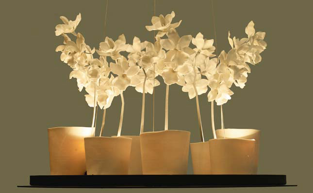 Spirited forms: Ceramic lighting by Jeremy Cole