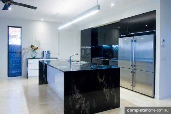 Real Kitchen Dark And Modern Kitchen Design Completehome
