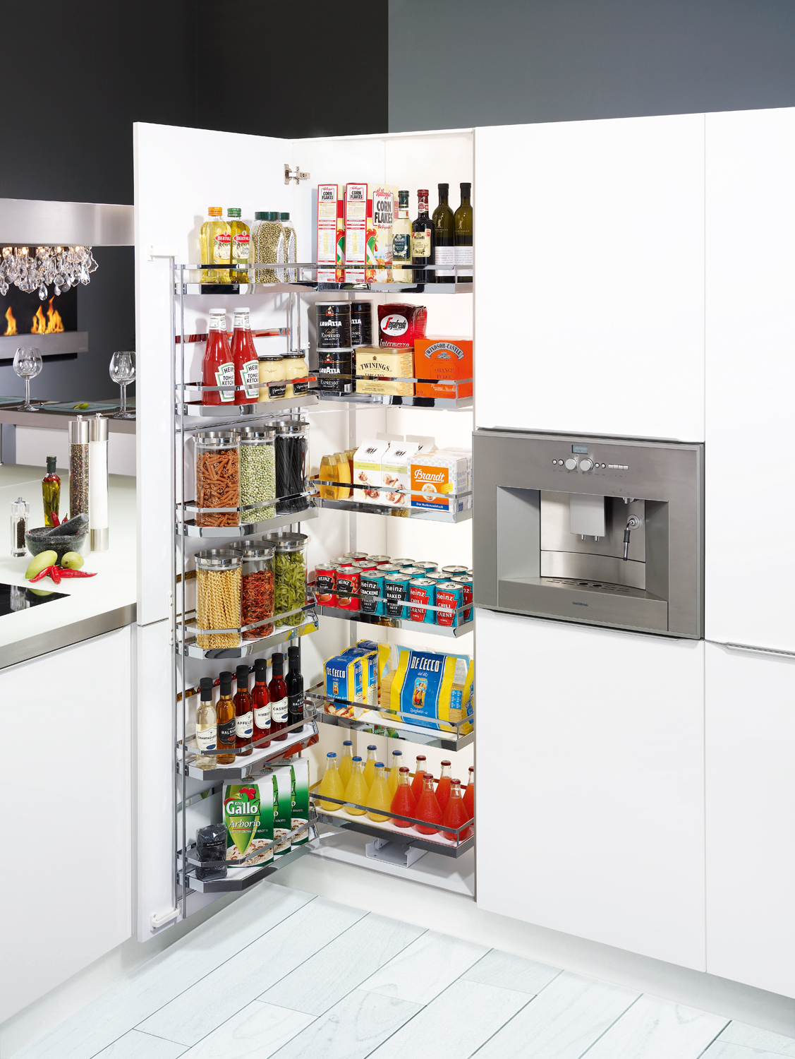 Kitchen cabinets range a smart storage solution for Kitchen cabinets storage