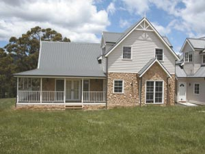 Colonial design completehome for Colonial home designs australia