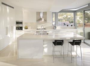 Simply spacious kitchen