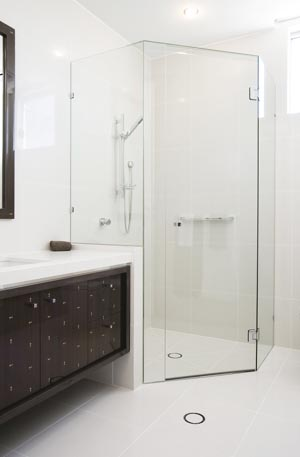 Style with modern glass shower screens