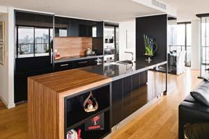 Yin and Yang kitchen design