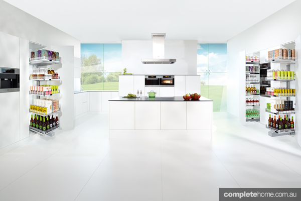 CONVOY cabinets from Häfele ? redefining the way food is stored