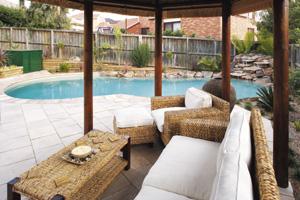 Backyard African oasis