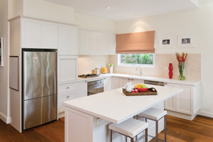 Relaxed kitchen design
