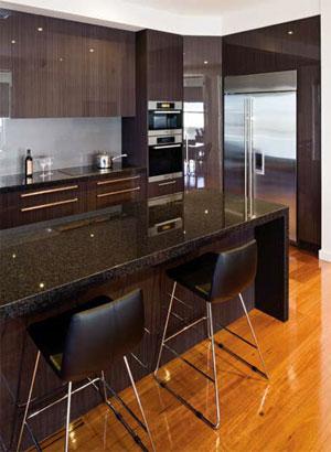 Bold and beautiful kitchen design
