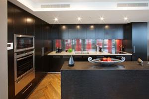Dramatic kitchen project