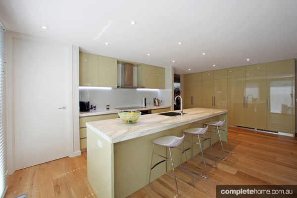 Natural styled kitchen design