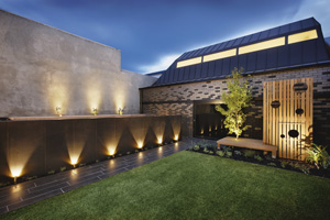 Contemporary classic landscape design