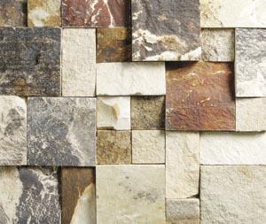 Natural stone creates design diversity
