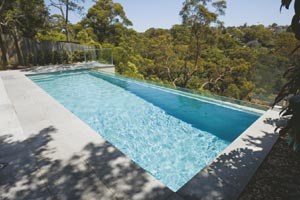 New pool design heralds serenity
