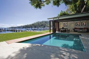 Perfect pool location