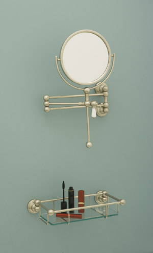 Bathroom mirrors from Perrin & Rowe