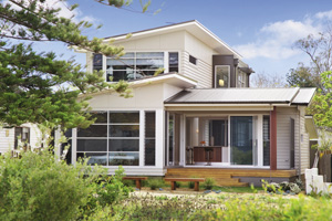 Modern beach home design