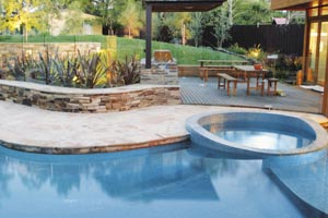 Stone paving for outdoor sanctuary