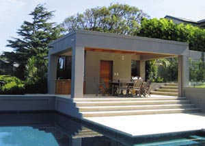 The complete package: pool and home design