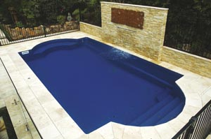 Pool design with classic charm
