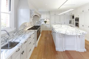 Kitchen on a grand scale