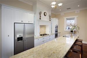 French provincial galley kitchen