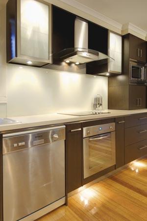 Tranquil kitchen renovation